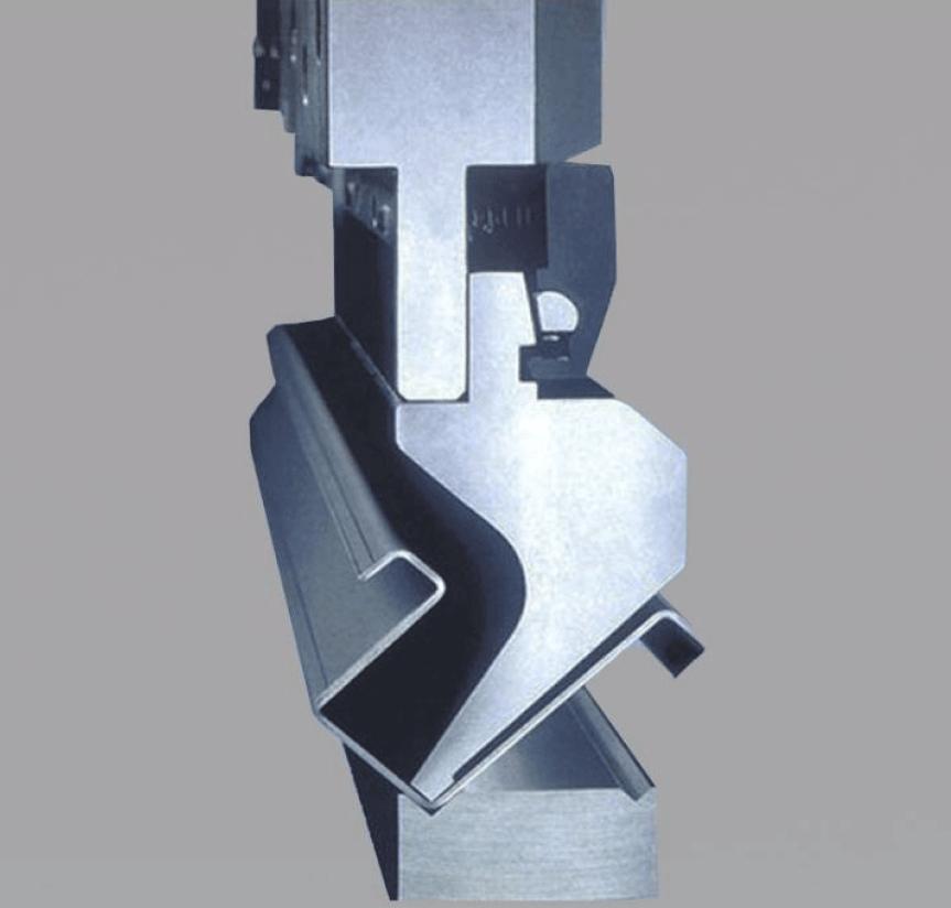 Abkantarbeiten der Blechumformtechnik für Prototypen und Rapid Prototyping für Stanz- und Umformteile
